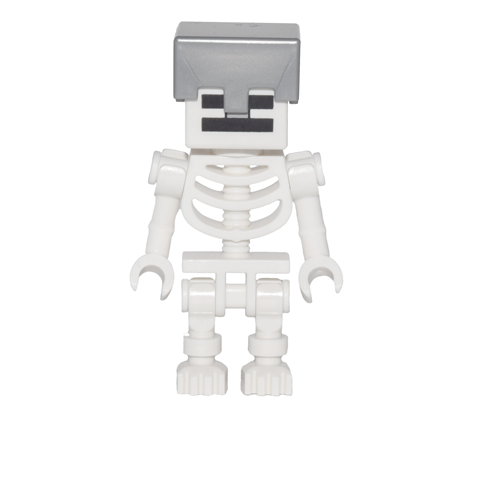 Skeleton with Helmet