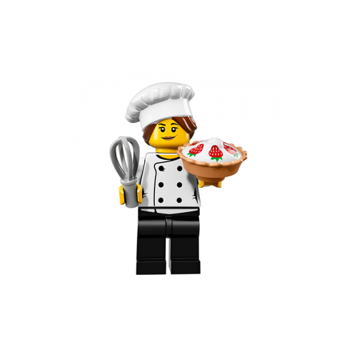 Gourmet Chef - LEGO Series 17 Collectible Minifigure