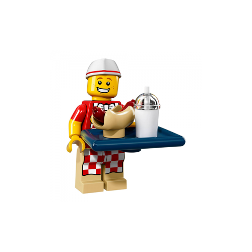 Hot Dog Vendor - LEGO Series 17 Collectible Minifigure