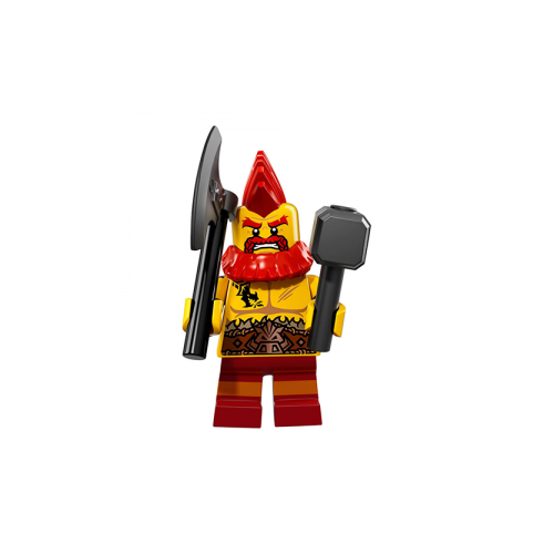 Battle Dwarf - LEGO Series 17 Collectible Minifigure