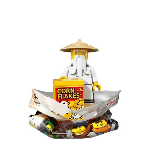 Master Wu - LEGO Ninjago Movie Collectible Minifigure