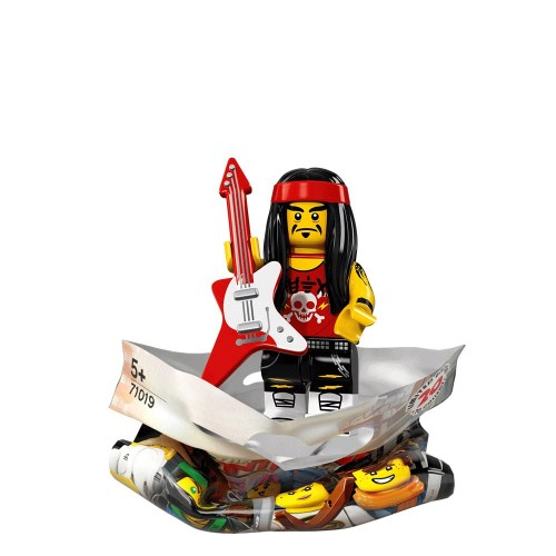 Gong and Guitar Rocker - LEGO Ninjago Movie Collectible Minifigure