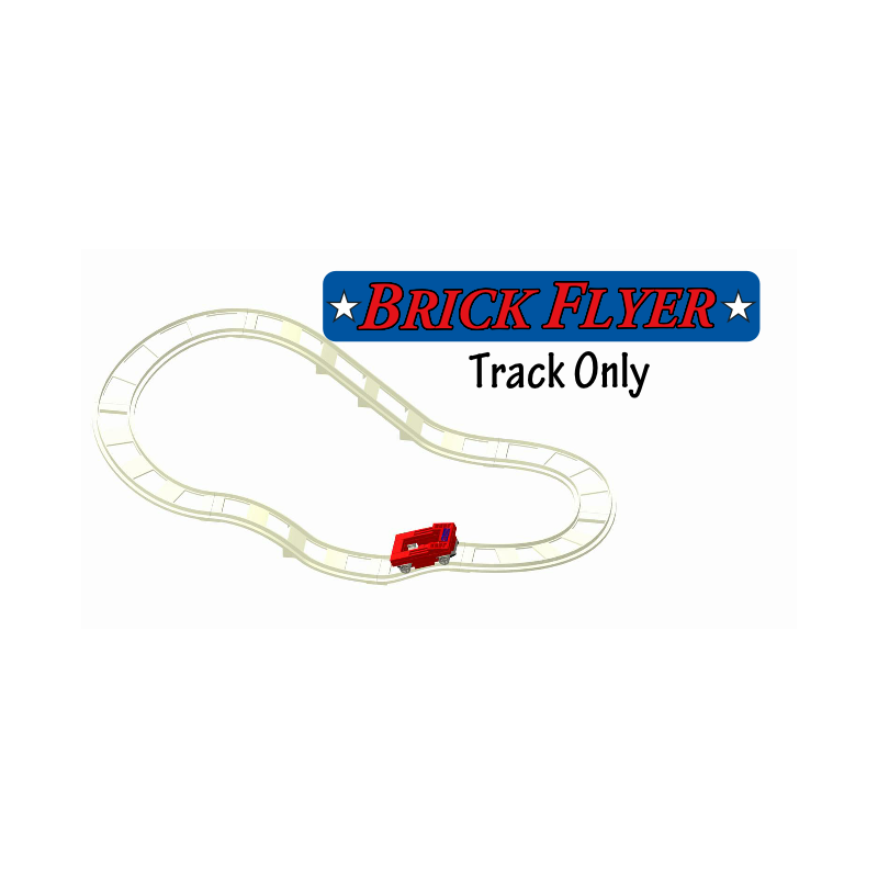 Brick Flyer Track & Car Set