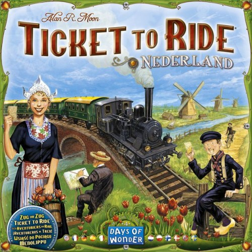 Ticket to Ride Netherlands Expansion