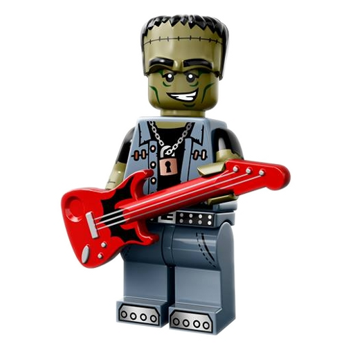 Monster Rocker - LEGO Series 14 Collectible Minifigure