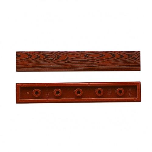Wood tile 1x6 (reddish brown colour)