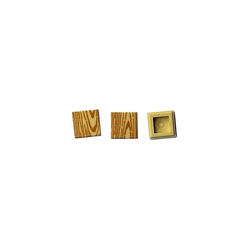 Wood tile 1x1 (tan colour)