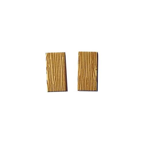 Wood tile 1x2 (tan colour)