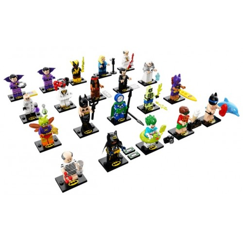 THE LEGO BATMAN MOVIE Series 2 Complete set of 20