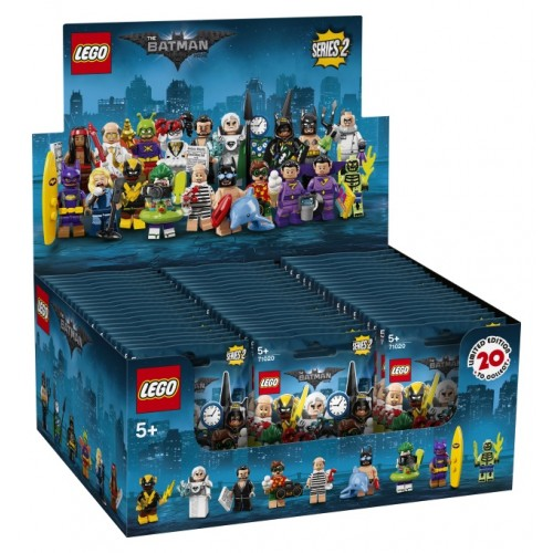 THE LEGO BATMAN MOVIE Series 2 Sealed box of 60