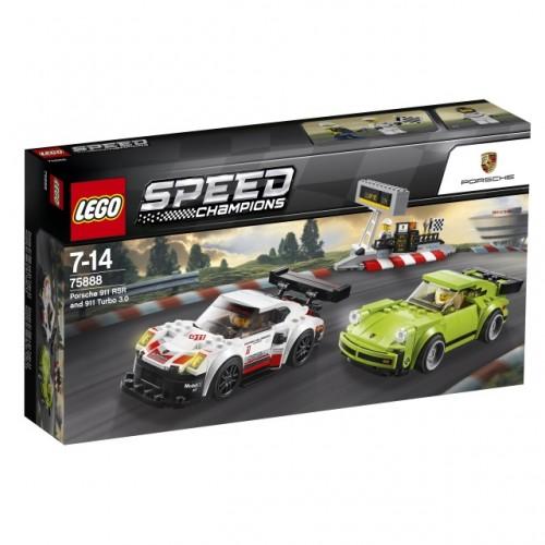 Porsche 911 RSR and 911 Turbo 3.0