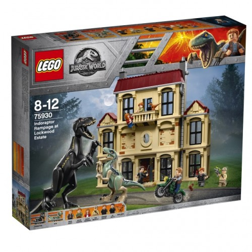 Indoraptor Rampage at Lockwood Estate
