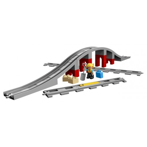 Train Bridge & Tracks