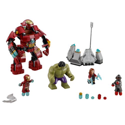 The Hulkbuster Smash