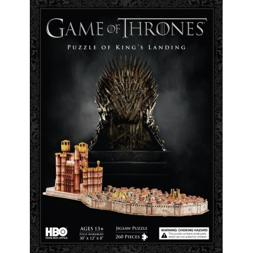 Game of Thrones: King's Landing 3D Puzzle