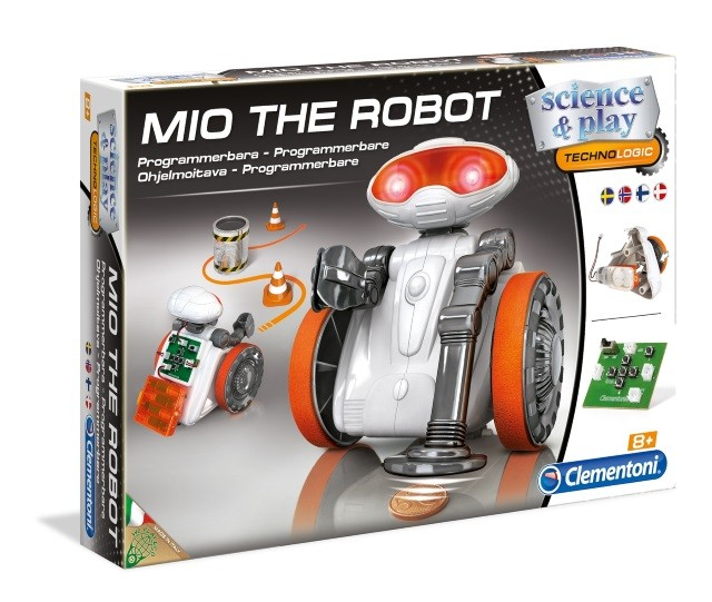 Mio the Programmable Robot Toy - Toybricks