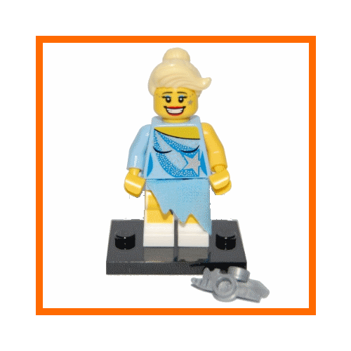 Ice Skater - LEGO Series 4 Collectible Minifigure