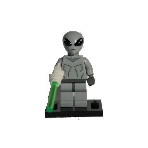 Classic Alien - LEGO Series 6 Collectible Minifigure