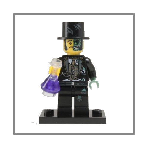 Mr Good and Evil - LEGO Series 9 Collectible Minifigure