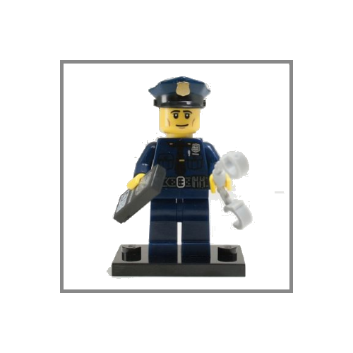 Policeman - LEGO Series 9 Collectible Minifigure