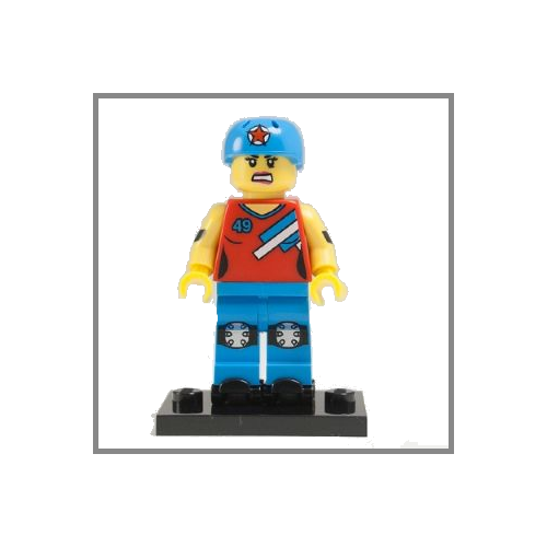 Roller Derby Girl - LEGO Series 9 Collectible Minifigure