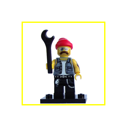 Motorcycle Mechanic - LEGO Series 10 Collectible Minifigure