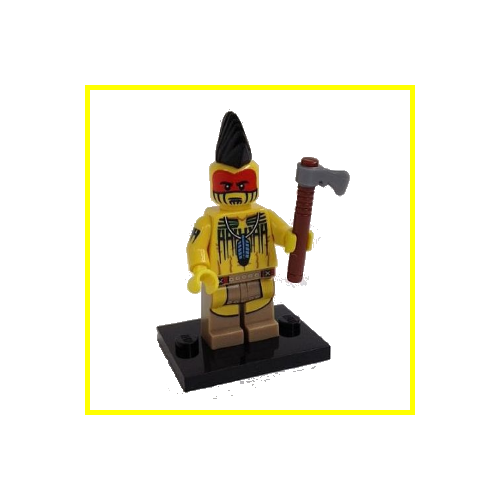 Tomahawk Warrior - LEGO Series 10 Collectible Minifigure