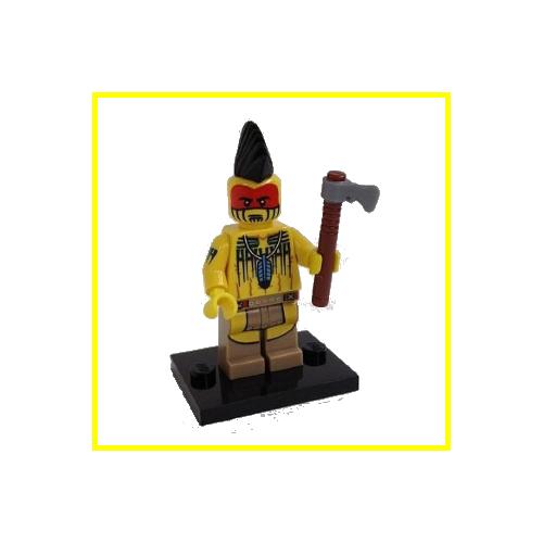 Tomahawk Warrior - LEGO Series 10 Collectible Minifigure