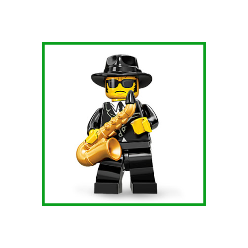 Saxophone Player - LEGO Series 11 Collectible Minifigure