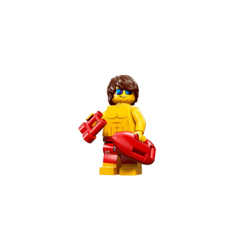 Male Lifeguard - LEGO Series 12 Collectible Minifigure