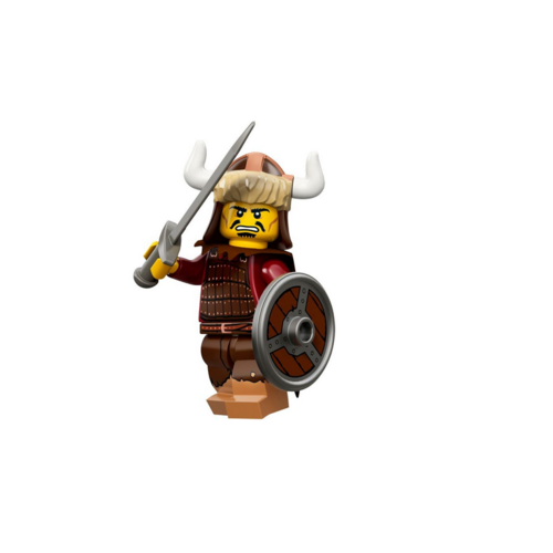 Hun Warrior - LEGO Series 12 Collectible Minifigure