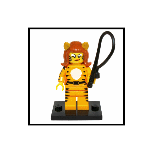 Tiger Woman - LEGO Series 14 Collectible Minifigure