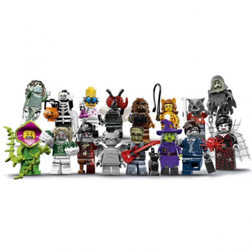 Complete set - LEGO Series 14 Collectible Minifigure