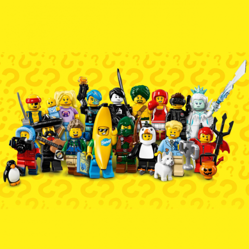 Complete set - LEGO Series 16 Collectible Minifigure