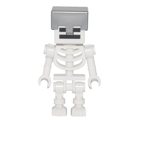 Skeleton with Helmet