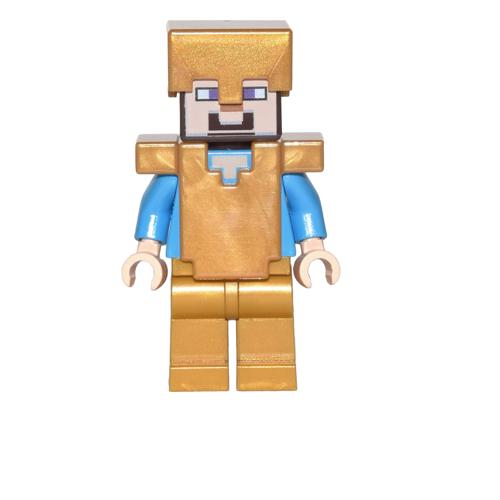 Steve with Gold Helmet