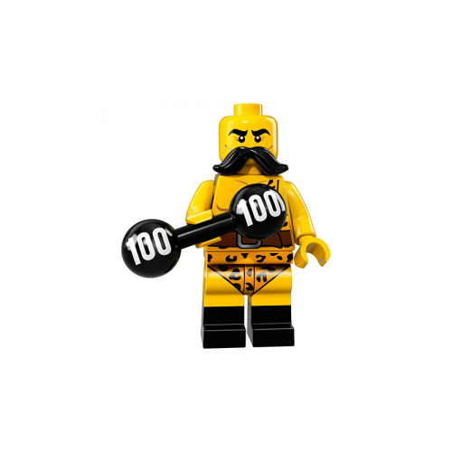 Circus Strongman - LEGO Series 17 Collectible Minifigure