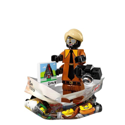 Flashback Garmadon - LEGO Ninjago Movie Collectible Minifigure