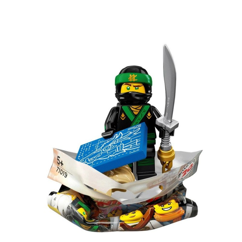 - LEGO Ninjago Movie Collectible Minifigure