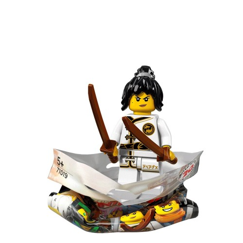 Spinjitsu Training Nya - LEGO Ninjago Movie Collectible Minifigure