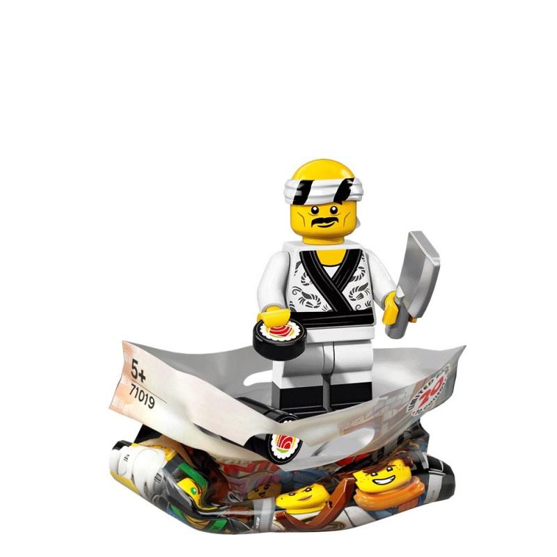 Sushi Chef - LEGO Ninjago Movie Collectible Minifigure