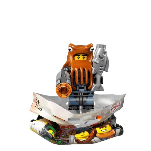 Shark Army Octopus - LEGO Ninjago Movie Collectible Minifigure