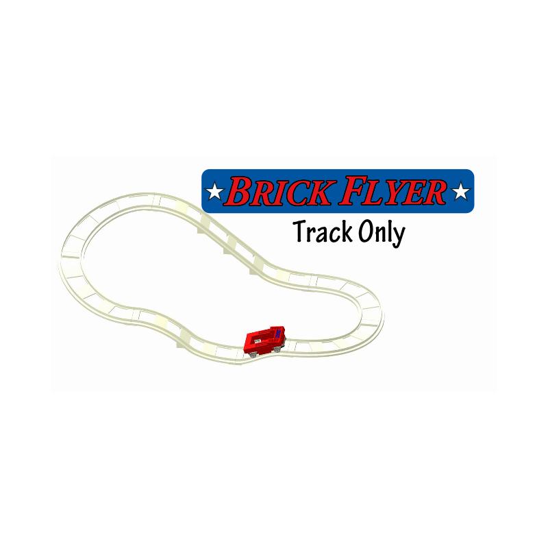 Brick Flyer Track & Car Set