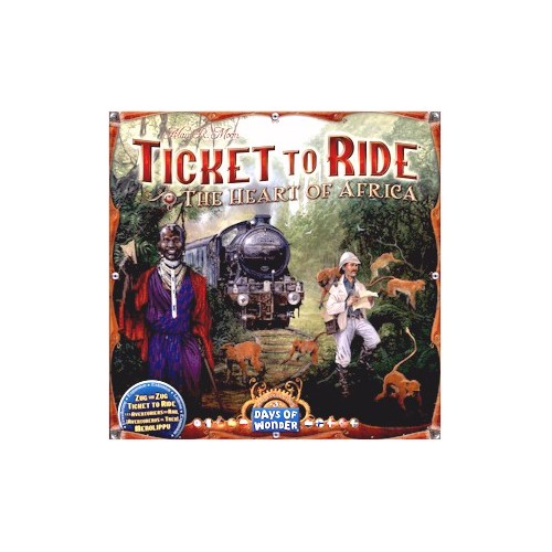 Ticket to Ride Heart of Africa Expansion