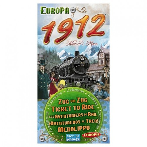 Ticket to Ride Europe 1912 Expansion