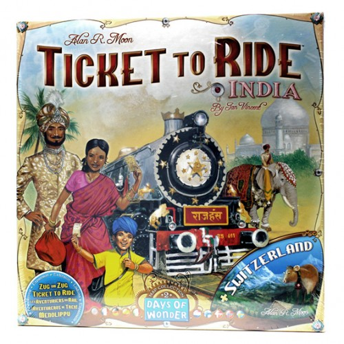 Ticket to Ride India Expansion