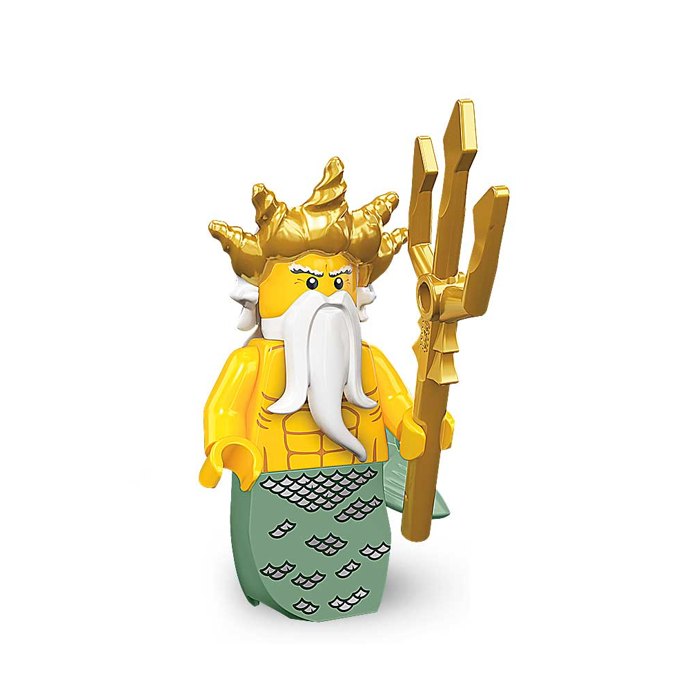 Viking Woman - col07-13 LEGO minifigure Series 7