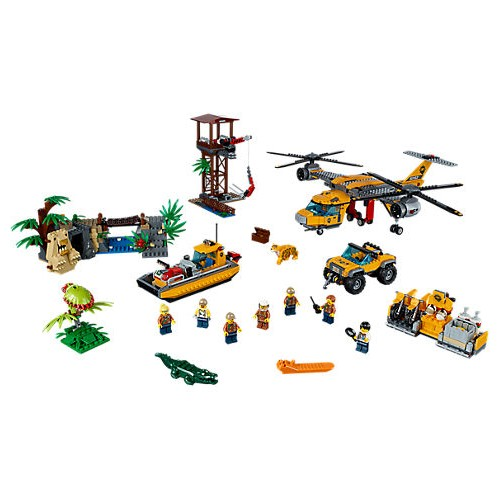 Jungle Air Drop Helicopter