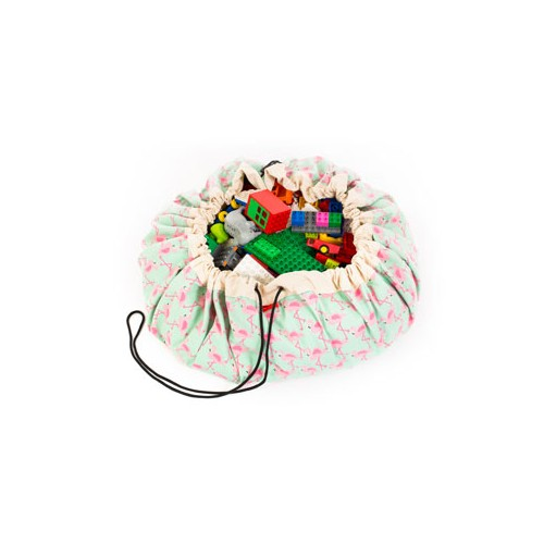 Play & Go Toy Storage Bag - Flamingo