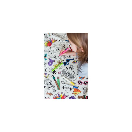 Play & Go Toy Storage Bag - OMY Colour Your Bag